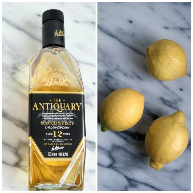 Whisky and lemons