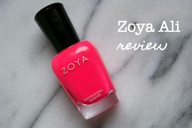 Zoya nail varnish
